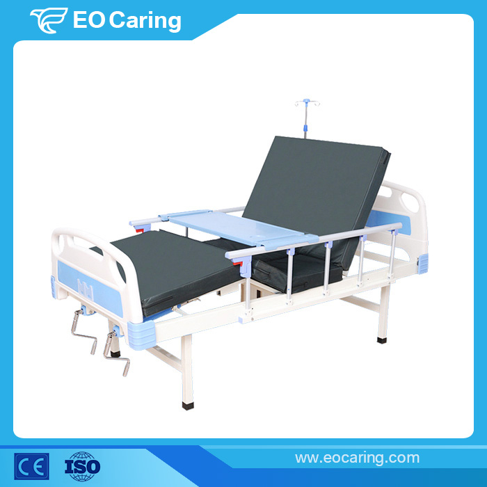 Comfortable Manual Hospital Bed