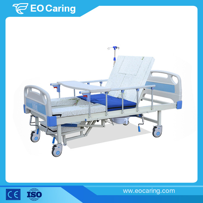 Reinforced Manual Hospital Bed