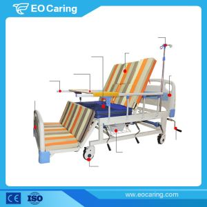 Adjustable Manual Hospital Bed