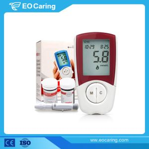 High Accuracy Coding Blood Glucose Meter