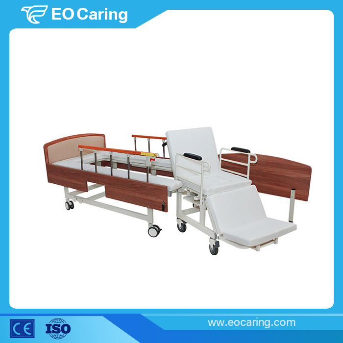 Transformable Manual Hospital Bed